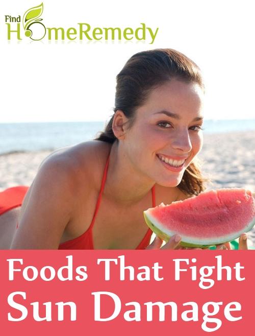 5 Foods That Fight Sun Damage