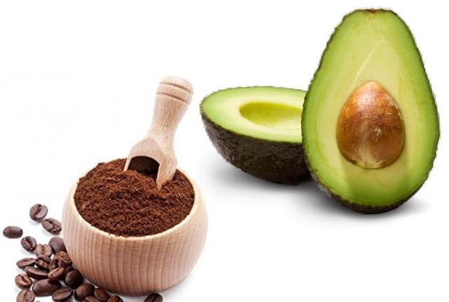 Coffee And Avocado Scrub