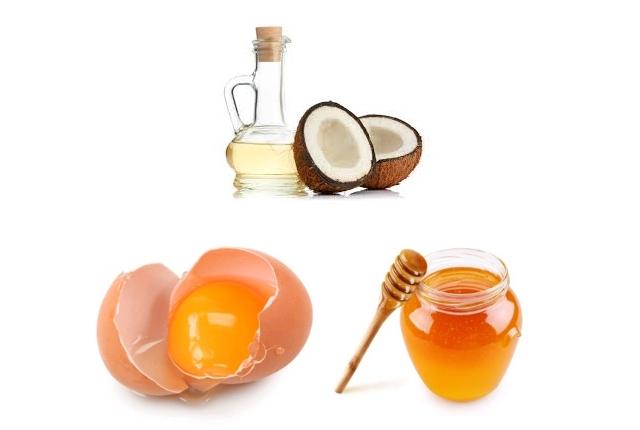 Egg, Honey, And Coconut Oil