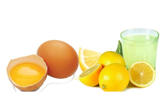 Egg With Lemon Juice