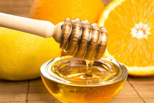 Honey And Orange Scrub