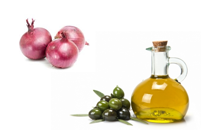 Onion With Olive Oil
