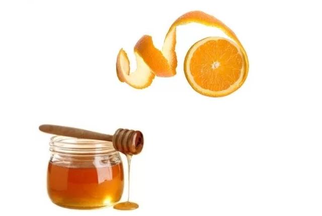 Orange Peels With Honey