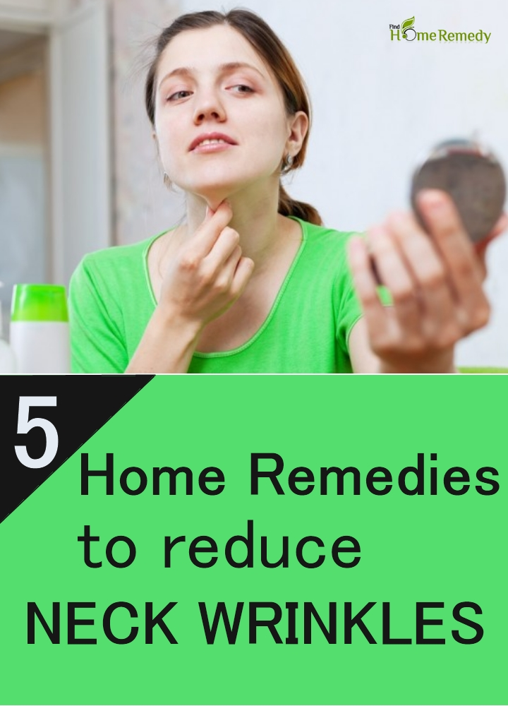 Remedies To Reduce Neck Wrinkles