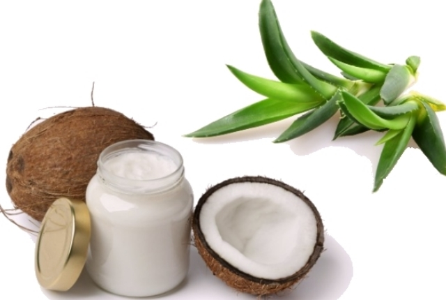 Aloe-Vera And Coconut Oil Hair Mask
