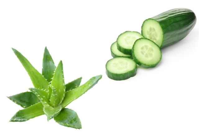 Cucumber And Aloe Vera Gel