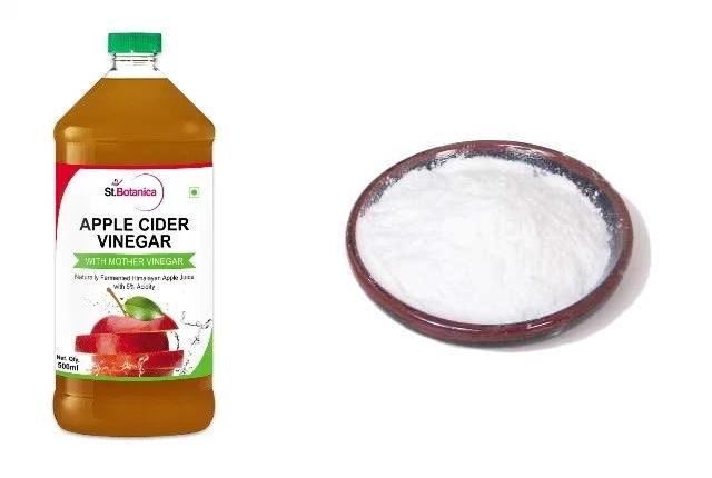 Apple Cider Vinegar And Corn Starch