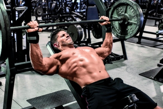 Barbell Inclined Bench Press
