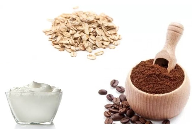 Coffee, Oatmeal And Yogurt Pack