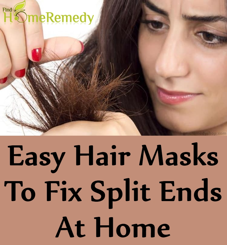 Hair Masks To Fix Split Ends