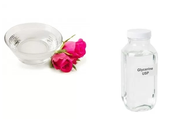Glycerin And Rosewater