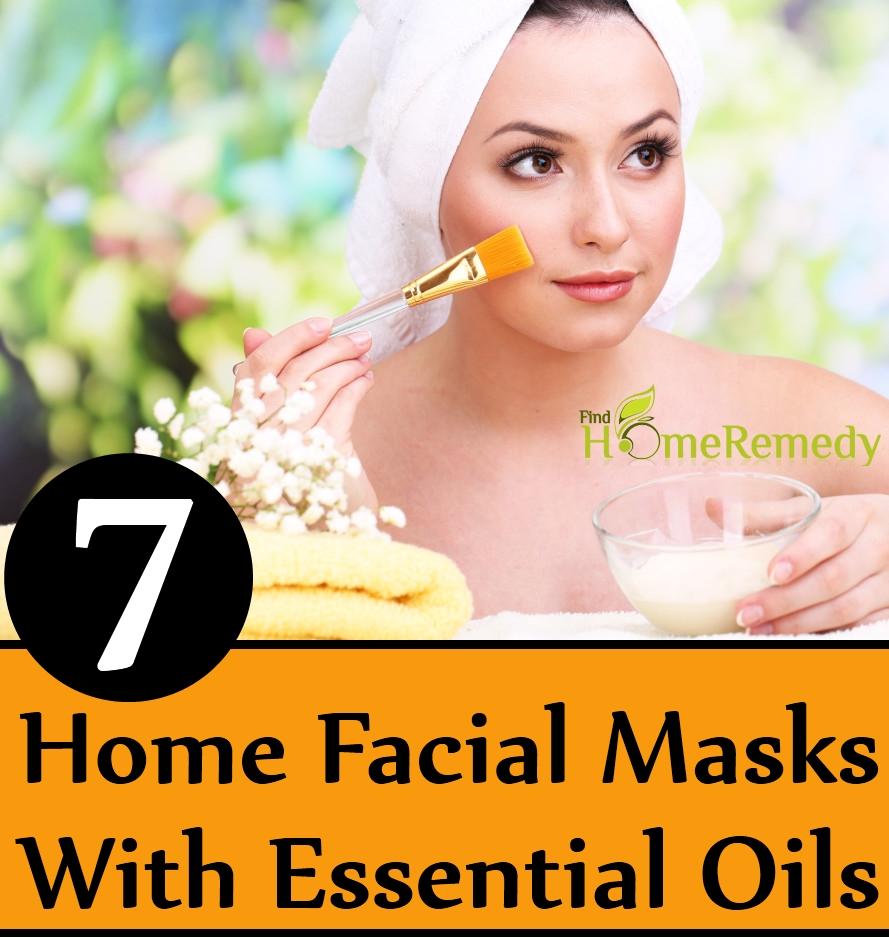 Home Facial Masks With Essential Oils