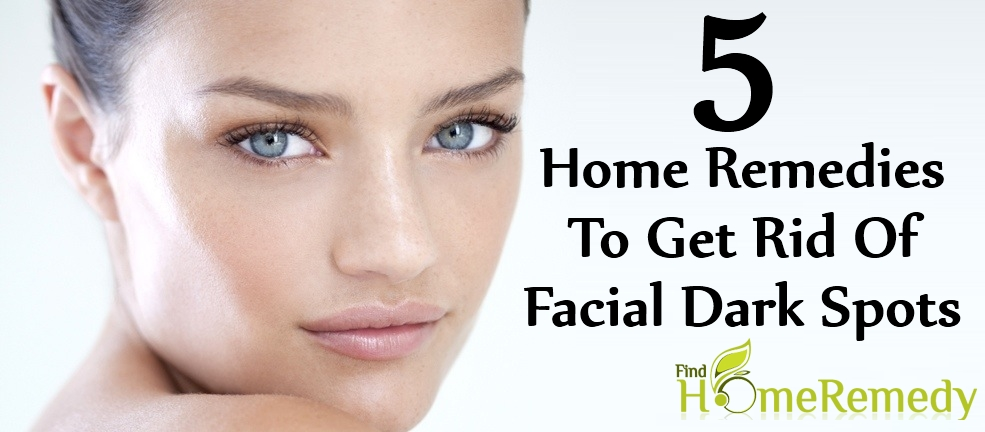 Home Remedies To Get Rid Of Facial Dark Spots