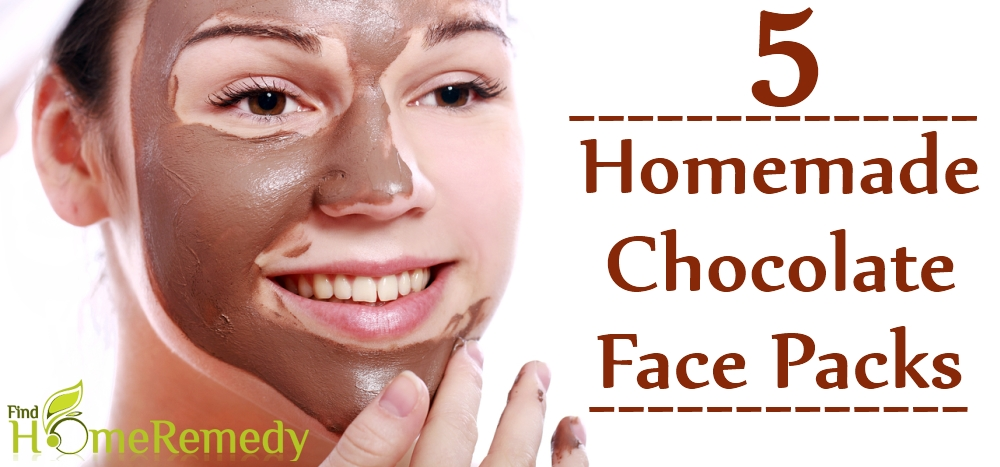 Homemade Chocolate Face Packs