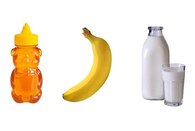 Milk Banana Honey Mask