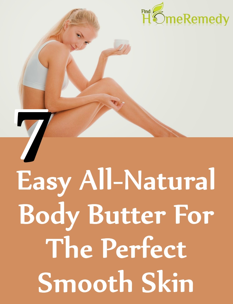 Natural Body Butter For The Perfect Smooth Skin