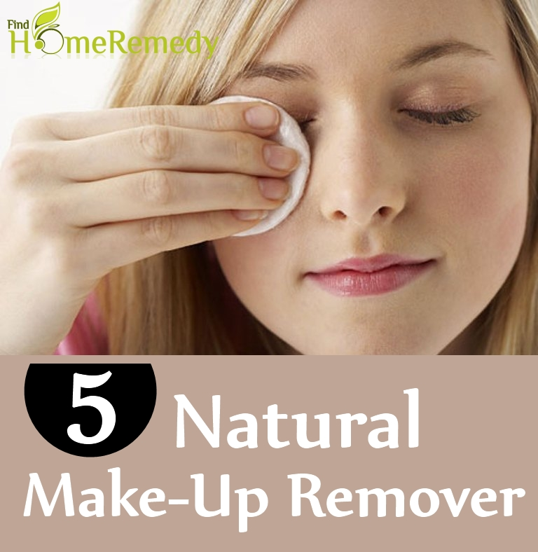 5 Natural Make-Up Remover