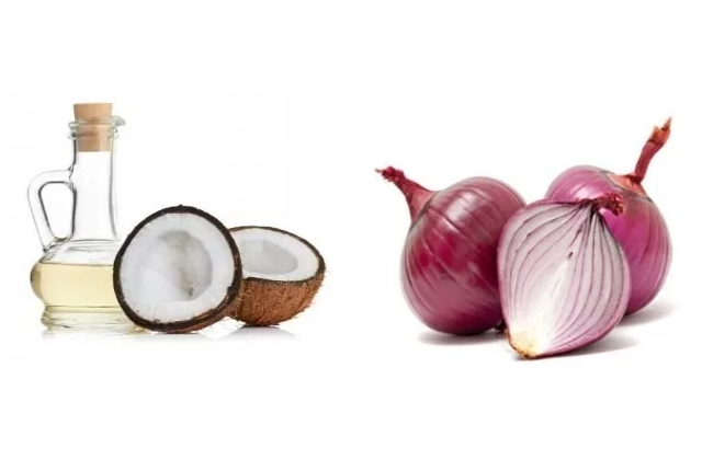 Onion Juice And Coconut Oil Mask