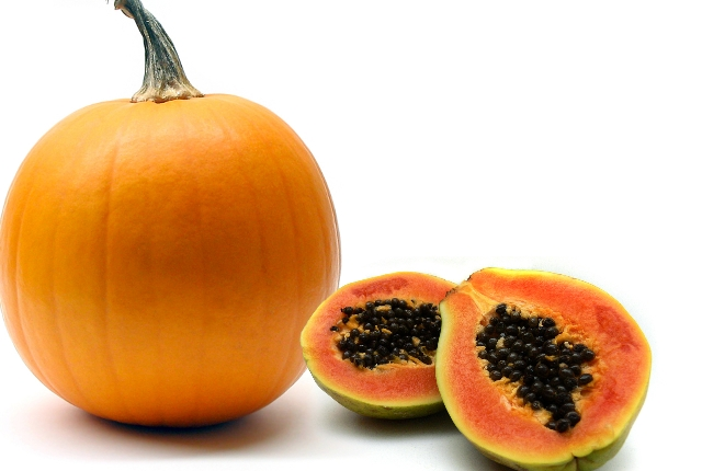 Papaya And Pumpkin