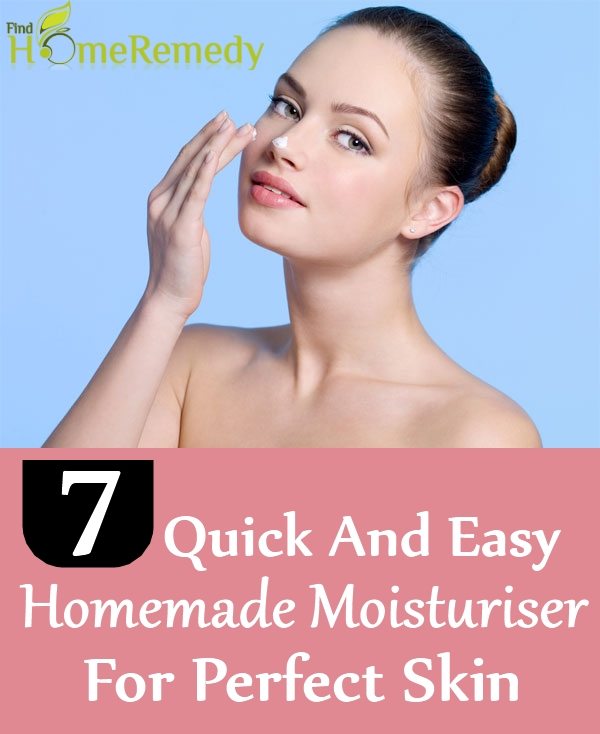 Homemade Moisturiser For Perfect Skin