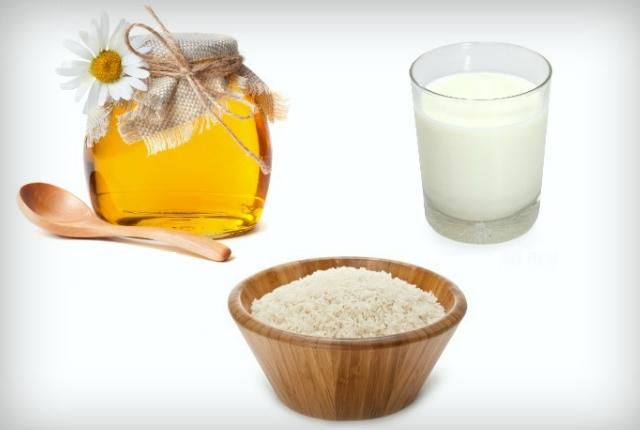 Rice Powder Milk And Honey