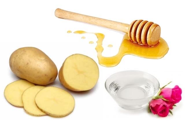 Rosewater, Potato, And Honey