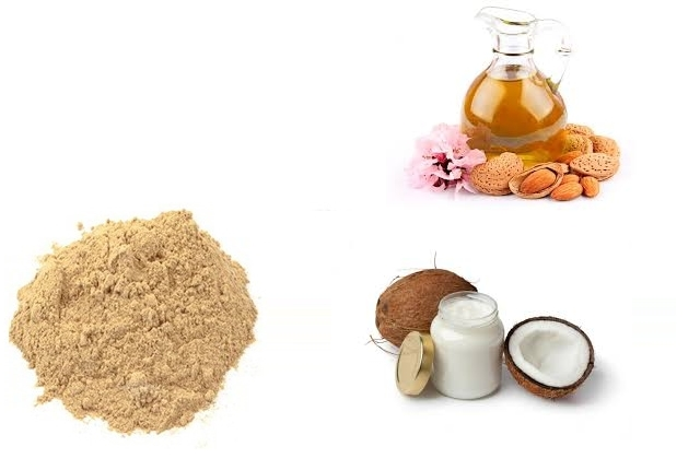 Sandalwood, Almond Oil And Coconut Oil Face Pack