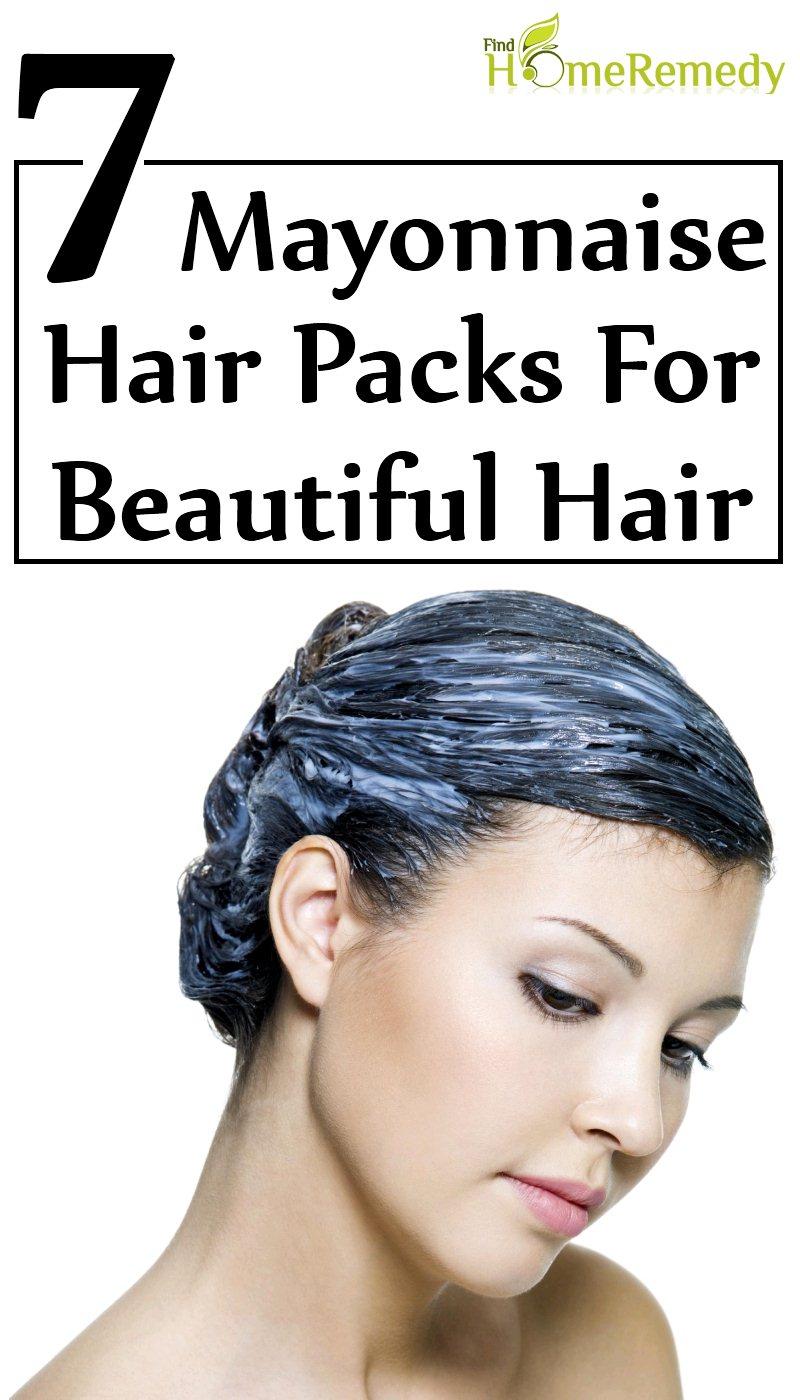 Mayonnaise Hair Packs For Beautiful Hair