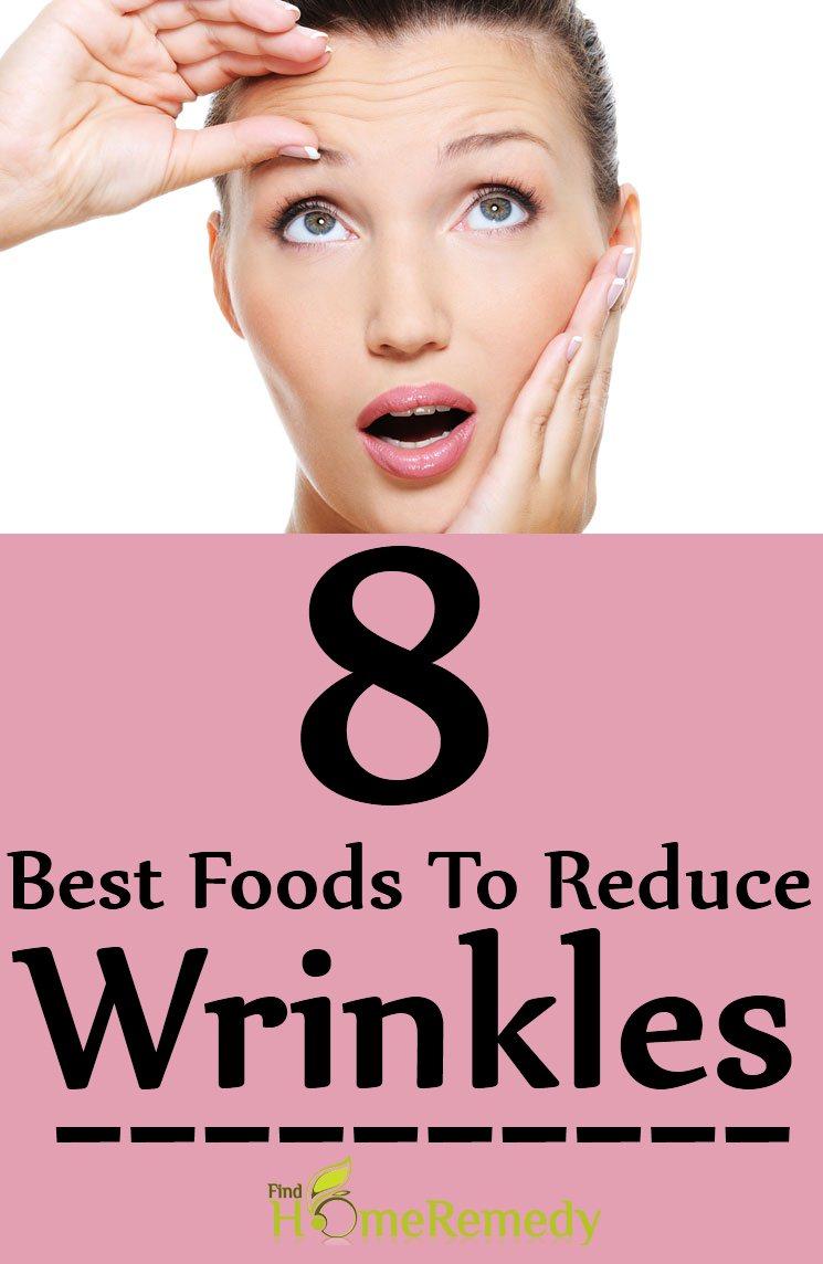 8 Best Foods To Reduce Wrinkles