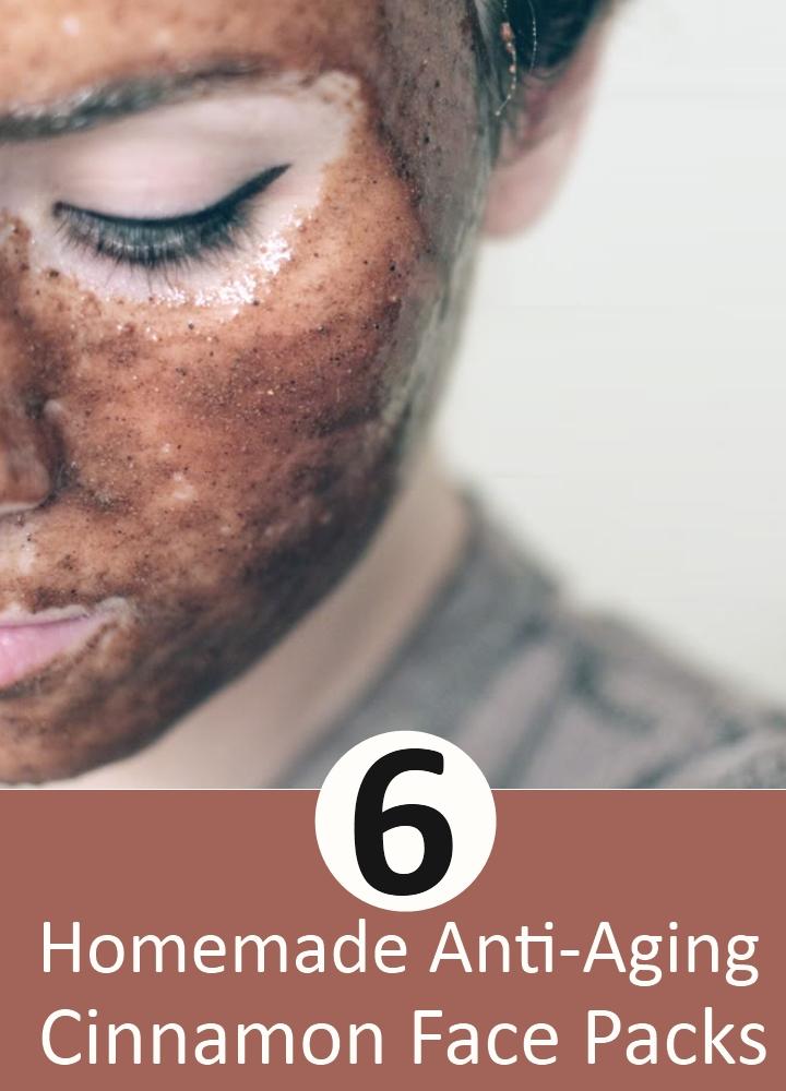 Anti-Aging Cinnamon Face Packs
