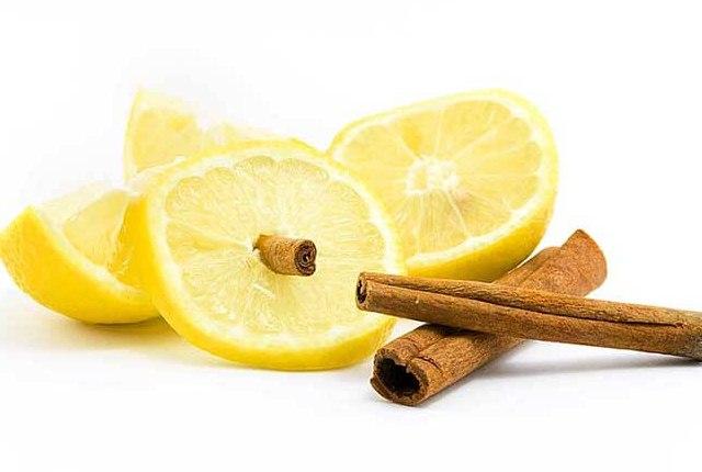 Cinnamon With Lemon Juice