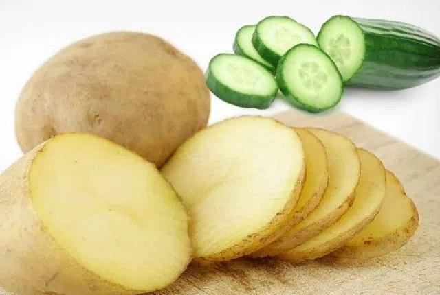 Cucumber Juice And Potato Juice