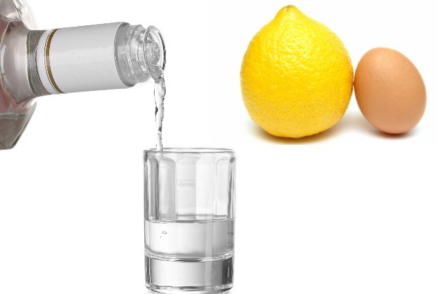 Egg Lemon Juice And Vodka Shampoo