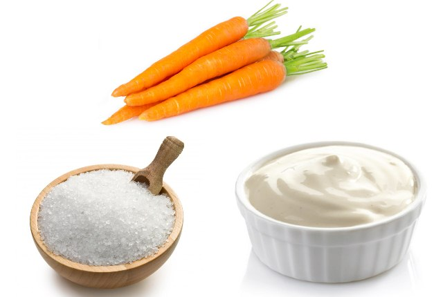 Epsom Salt, Mayonnaise, And Carrots
