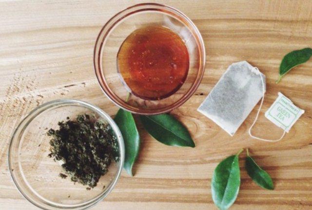 Green Tea And Honey Scrub