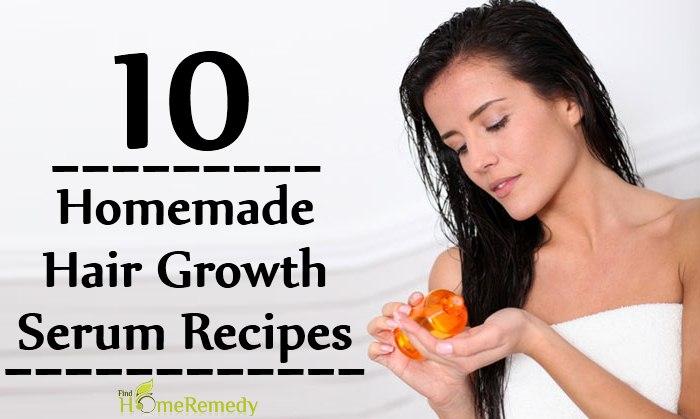Homemade Hair Growth Serum Recipes