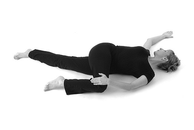 Knee Down Twist: