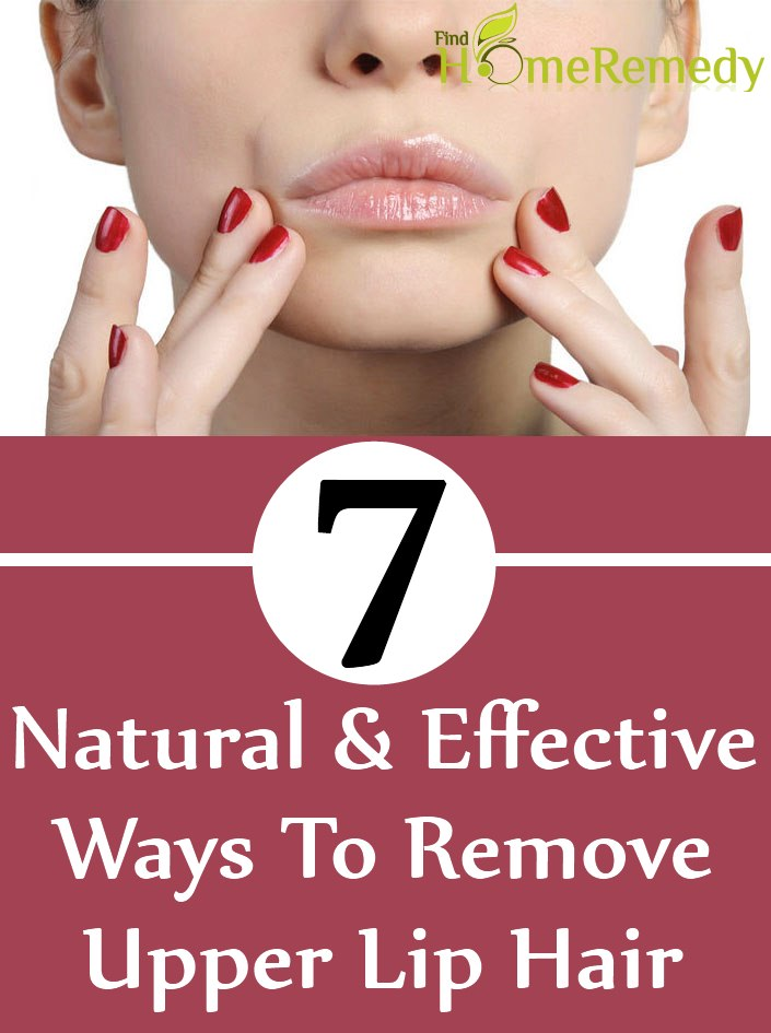 7 Natural And Effective Ways To Remove Upper Lip Hair