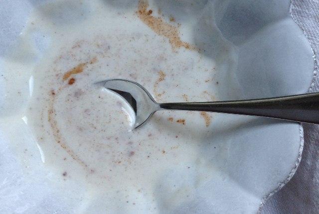 Nutmeg With Coconut Milk