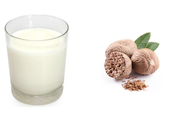 Nutmeg With Milk