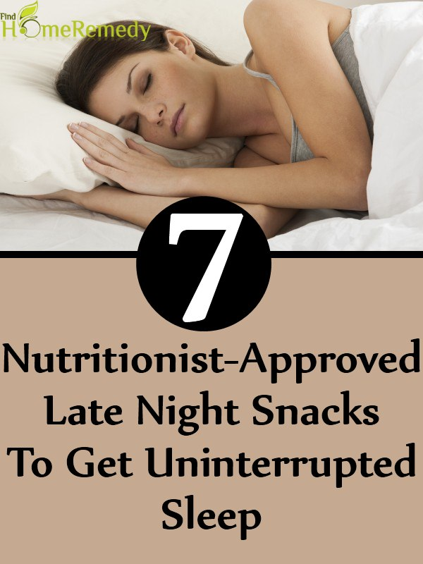 7 Nutritionist-Approved Late Night Snacks To Get Uninterrupted Sleep