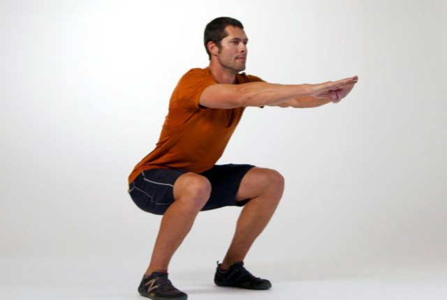 Squat Hold And Pulse