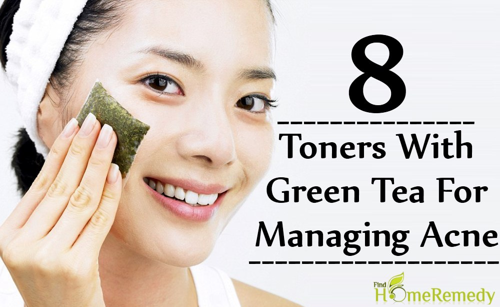Toners With Green Tea For Managing Acne