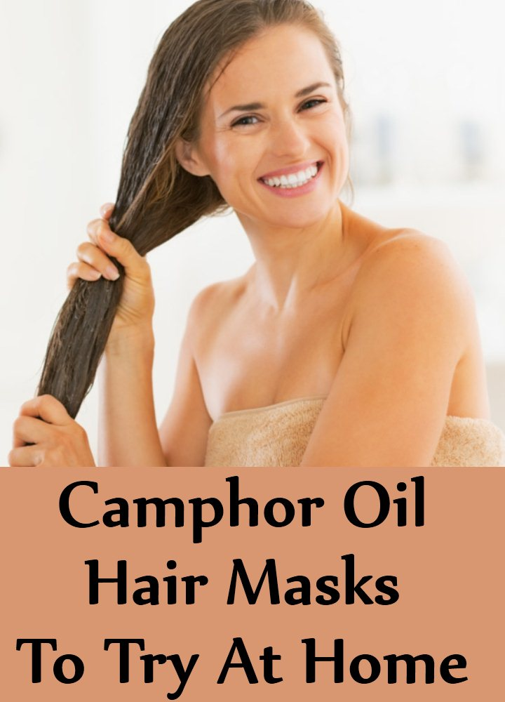 Camphor Oil Hair Masks To Try At Home