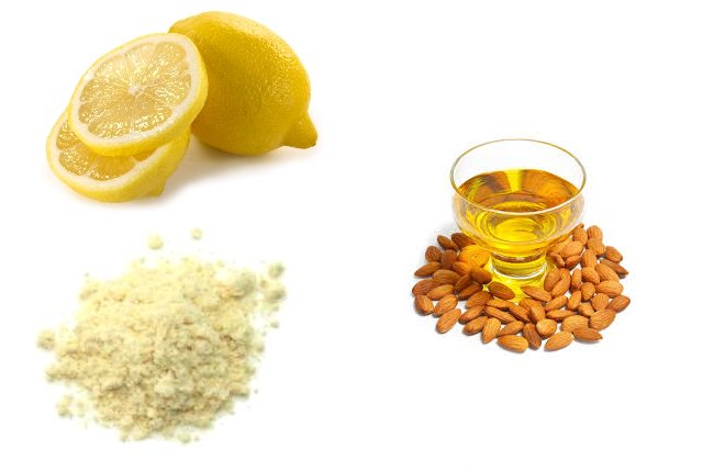 Lemon And Almond Oil With Gram Flour