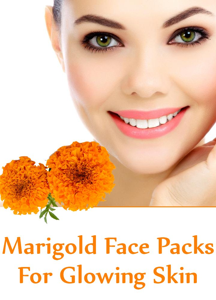 5 Amazing Marigold Face Packs For Glowing Skin