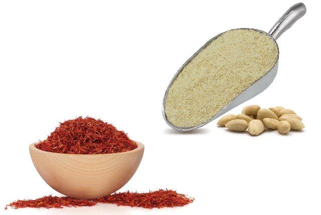 Saffron And Almond Powder Pack