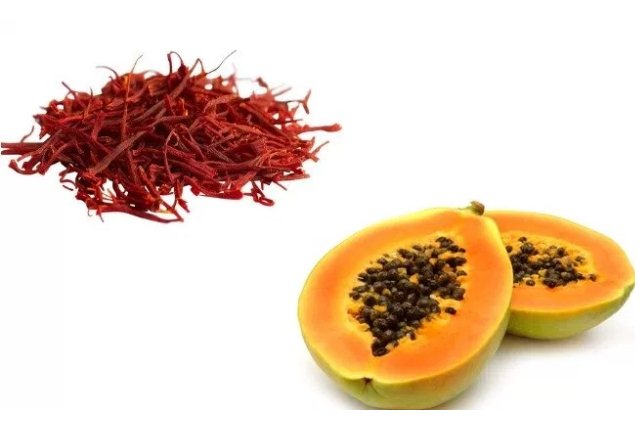 Saffron And Papaya Pack