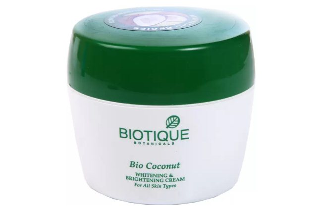 Biotique Botanical Bio Coconut Whitening And Brightening Cream