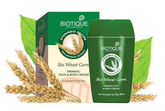 Biotique Wheat Germ Cream